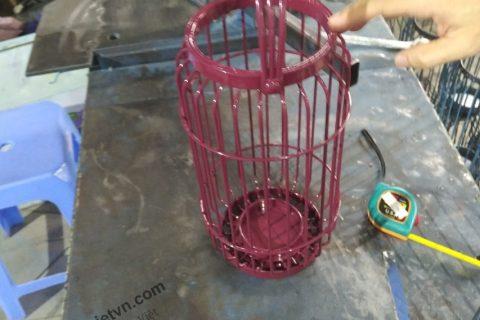Gia công đèn lồng sắt giá rẻ tại TPHCM